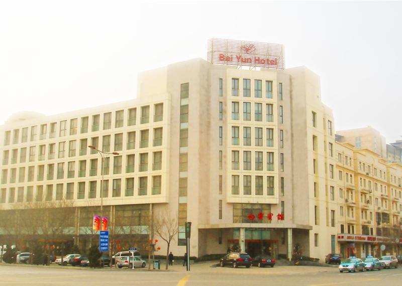 海关大楼五星红旗照片