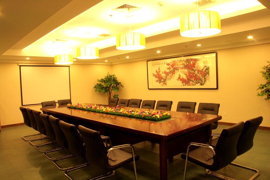会议桌俯视矢量图