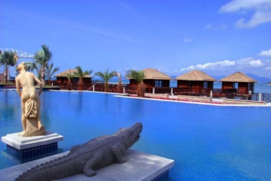 独特的巴厘岛式的spa风情