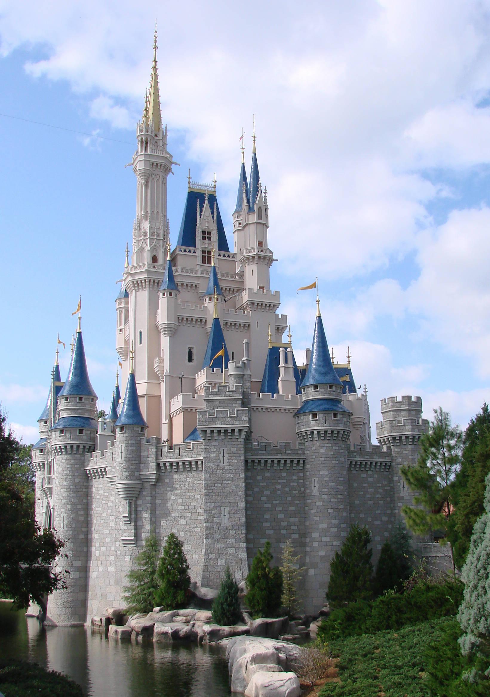 迪斯尼城堡迪斯尼城堡矢量图 迪斯尼城堡简笔画1图片