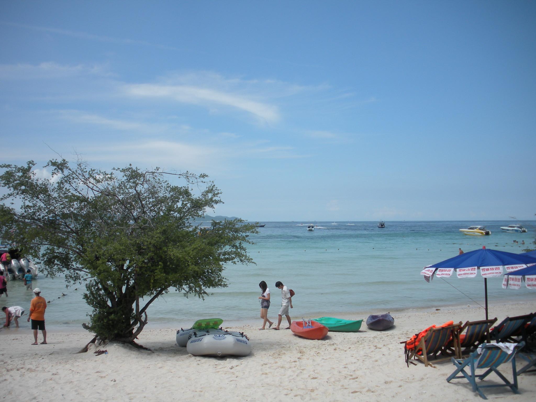 旅行心情记录:海洋岛屿美丽
