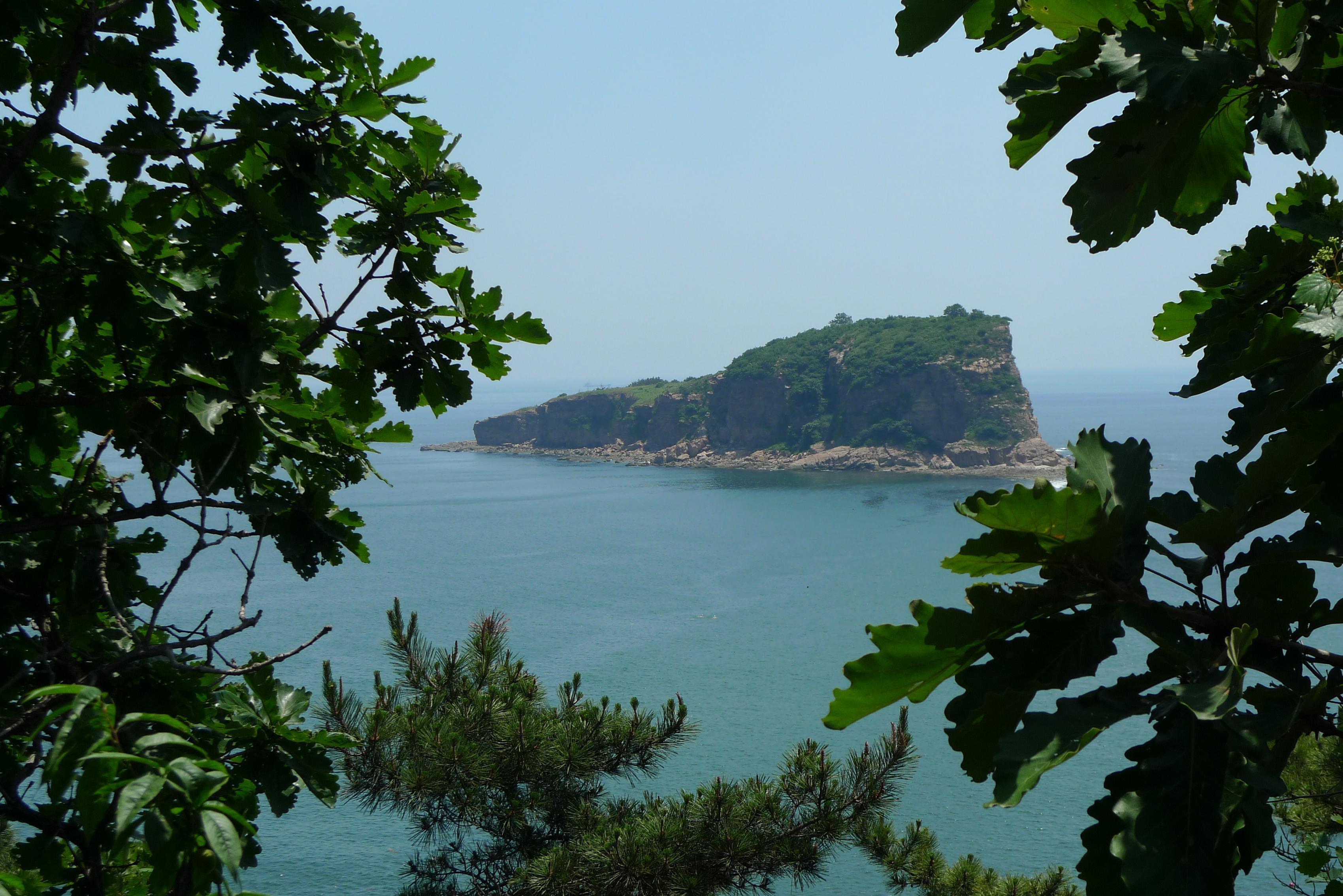 大连棒槌岛风景图片
