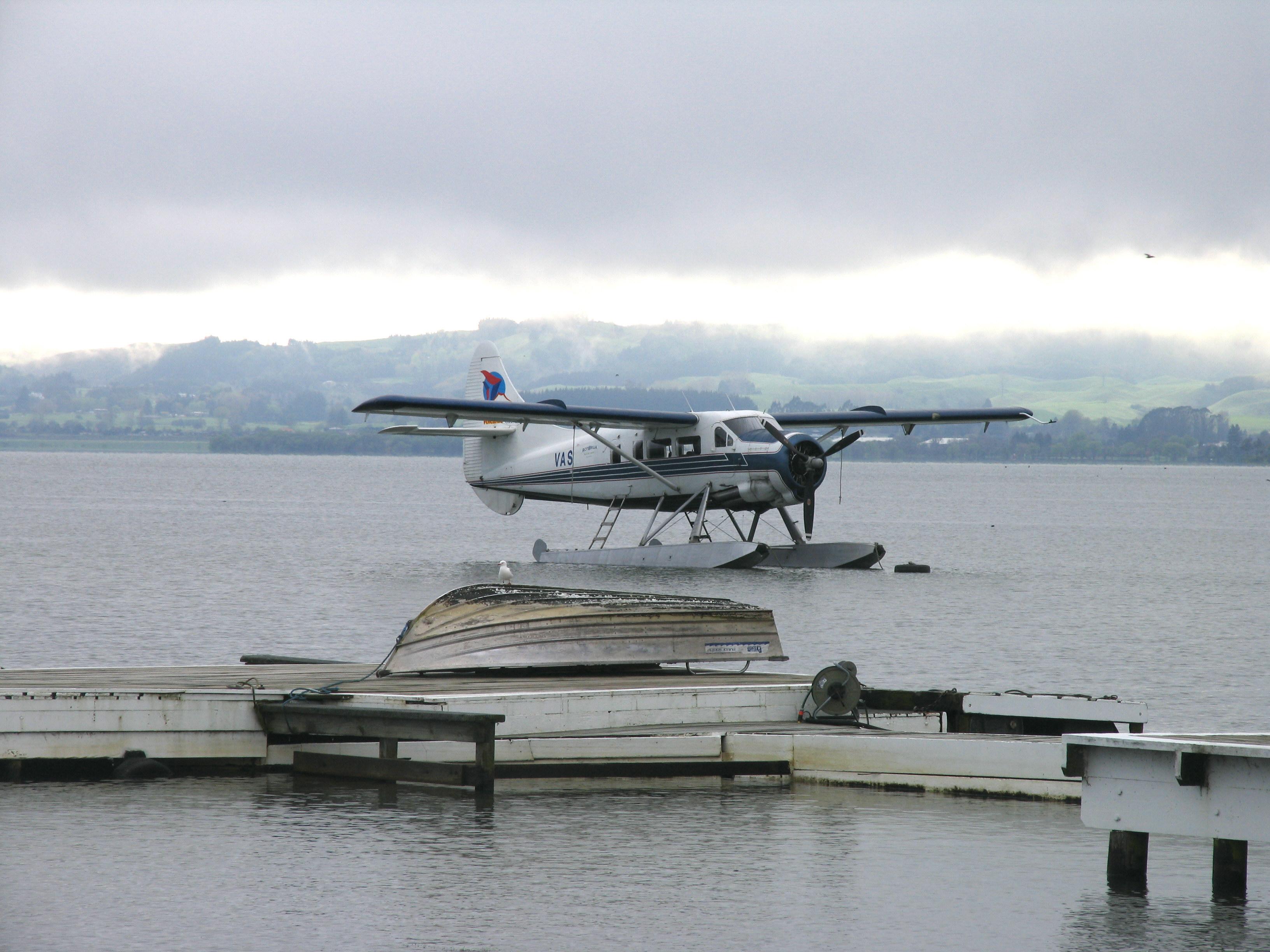 旅行心情记录:水上飞机